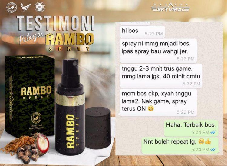 rambo spray murah