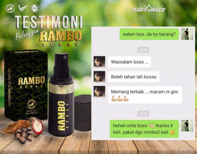 review rambo spray